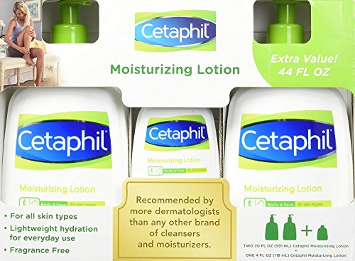 Cetaphil Mositurizing Lotion Fluid Ounce