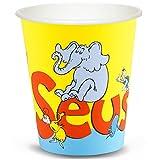 Dr Seuss Party Supplies - 9 oz. Paper Cups (8)