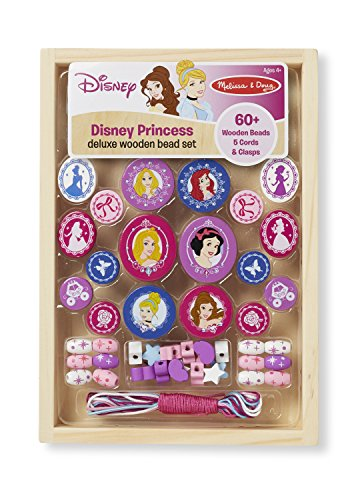 Disney Princess Deluxe Wooden Bead Set (Discontinued by manufacturer)