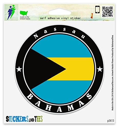 Bahamas Nassau Vinyl Car Bumper Window Sticker 2