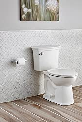 American Standard 714AA154.020 ActiClean Right Height Elongated Complete Toilet, White