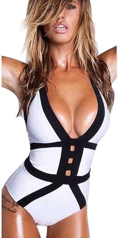 G-Real 2019 New Women Swimsuit One Piece Monokini Swimwear Tummy Control Bikini Bathing Suit