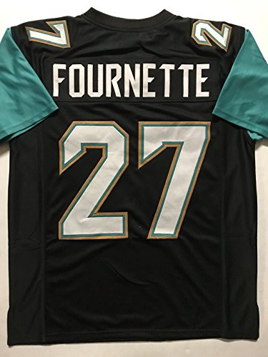 Unsigned Leonard Fournette Jacksonville Black Custom Stitched Football Jersey Size Mens Xl New No Brands Logos