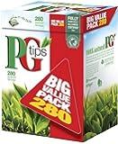 PG Tips Pyramid BIG VALUE PACK 280 Btl. 875g - Schwarzer Tee im Pyramid® Teebeutel