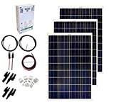 Grape Solar GS-300-CKIT-A 300W Solar Charging Kit for 12/24V Battery Banks