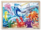 7 Pack MELISSA & DOUG UNDER THE SEA PUZZLE