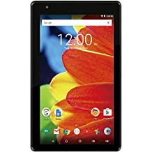 """RCA RCT6873W42 Voyager 7"""" 16GB Tablet 1024 X 600 Resolution 1.2GHz Intel Atom Quad-Core Processor Android 6.0 Marshmallow, Black"""