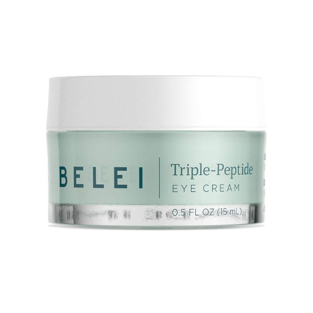 Belei Triple-Peptide Eye Cream, Fragrance Free, Paraben Free, 0.5 Fluid Ounce (15 mL) by Belei