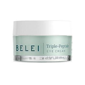 Amazon.com: Belei Crema de ojos de triple péptido, libre de ...