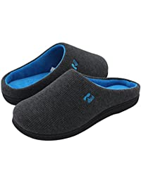 Women's Two-Tone Memory Foam Slipper