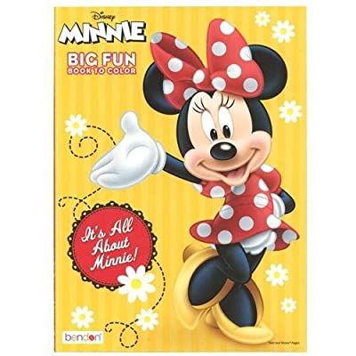 Minnie Mouse 96 pg Coloring Book: Toys & Games