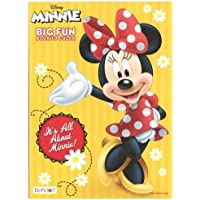 Minnie Mouse 96 pg Coloring Book