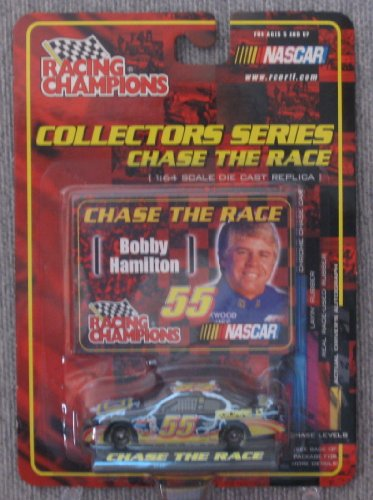 - Racing Champions NASCAR #55 Bobby Hamilton Square D Chase The Race Collector's Series 1:64 Scale Die Cast Replica Car 2001 Edition