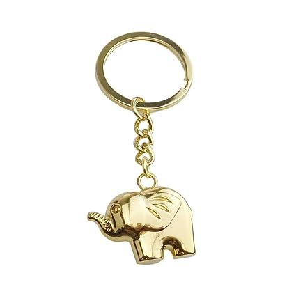 LIOOBO Llavero de Elefantes Llavero de Elefantes Regalo de ...