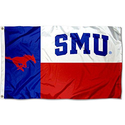 Smu Mustangs (SMU Mustangs Texas State Flag)