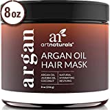 ArtNaturals Argan Oil Hair Mask - Deep Conditioner, 100% Organic Jojoba, Aloe Vera