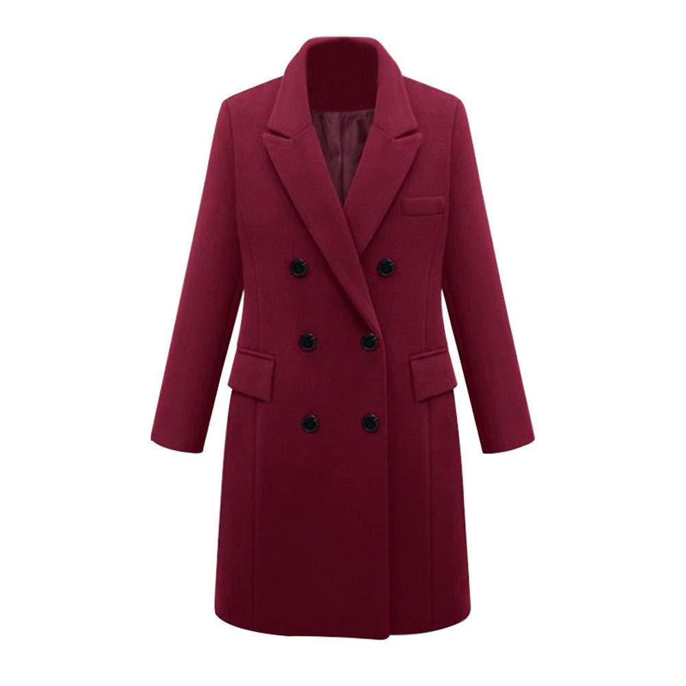 Inverlee Coat OUTERWEAR レディース B07J4S4J3K ワインレッド XX-Large