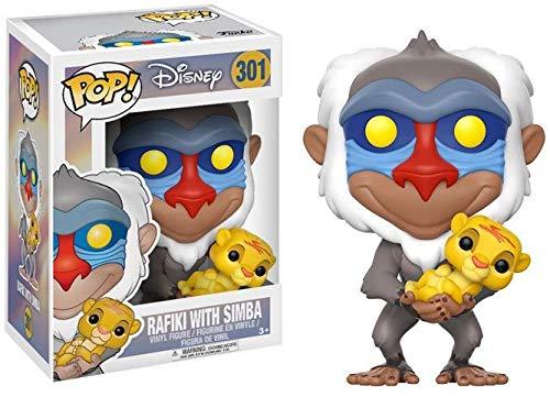 Funko Pop Disney Lion King-Rafiki with Simba