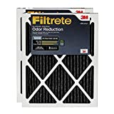 Filtrete 20x20x1, AC Furnace Air Filter, MPR 1200, Allergen Defense Odor Reduction, 2-Pack