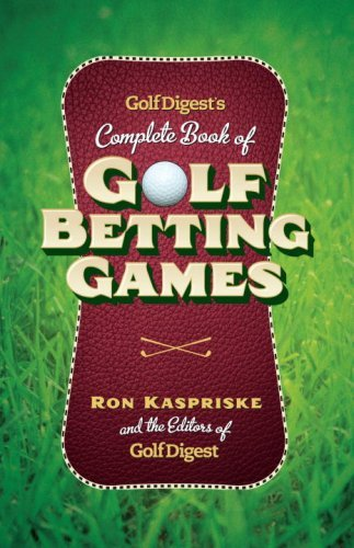 golf betting games with cards - 1