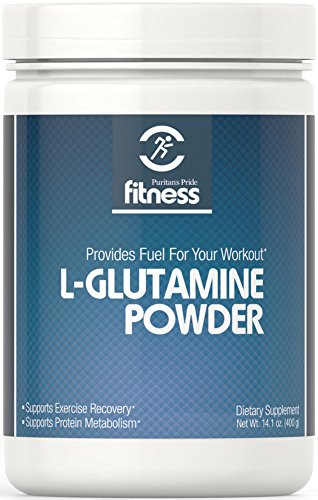Puritan's Pride Fitness L-Glutamine Powder 4500 mg -400 grams Powder
