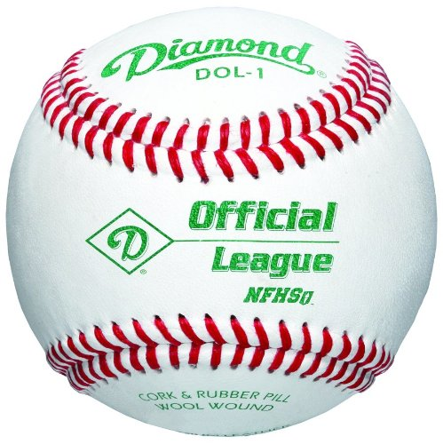 Diamond DOL-1 Official League NFHS Baseball (One Dozen) DOL-1