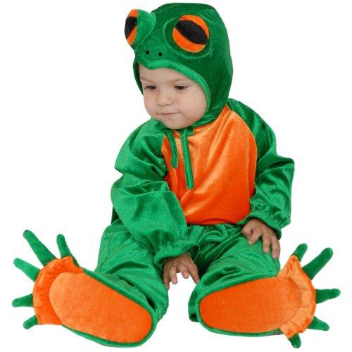 [Romper Costume, Frog (2T-4T)] (Child Frog Costume Pattern)