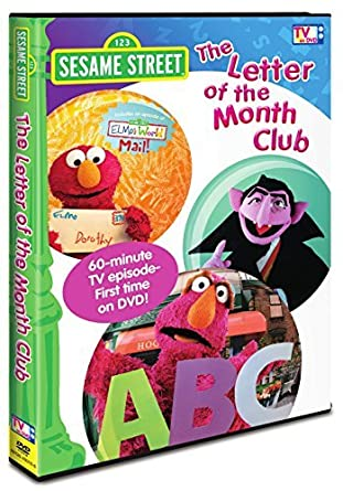 Amazon.com: Sesame Street: The Letter of the Month Club: Movies & TV