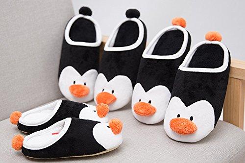 Familie Cartoon Pinguïn Schoffel Slippers Schattige Antislip Huis Schoenen Kinderen