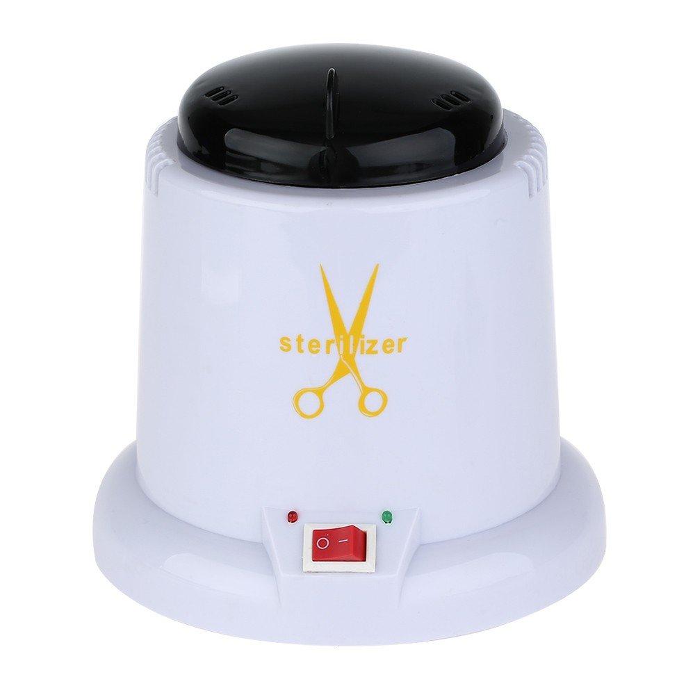 HeavenSense Steam Autoclave Scissor Manicure Sterilizer Machine with 150g Disinfection Glass Bead 220V EU Plug by HeavenSense