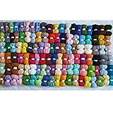 Maslin Felt Wool for Needle Felting kit Doll Merino Wool roving Sheep Wool Fiber DIY crafa,Shawl,Hats,Scarves,Short Sweater - (Color: Order7 575g)