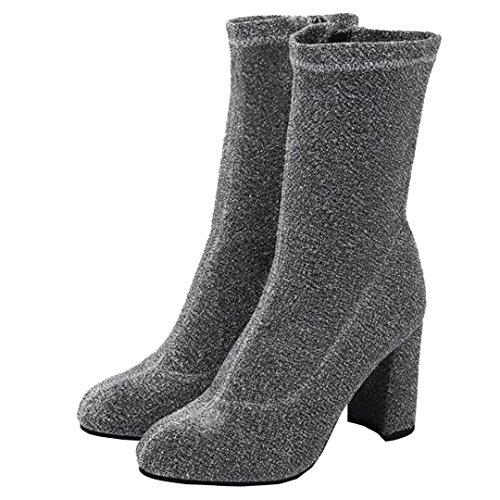 AIYOUMEI WoMen Boot Classic WoMen AIYOUMEI Classic Boot Grey AIYOUMEI Grey XI4af