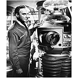 Lost in Space (1965) 8 x 10 Photo Jonathan Harris Left Hand on Robot kn