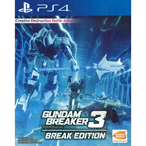 PS4 Gundam Breaker 3 Break Edition (English Subtitle) for Playstation 4