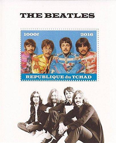 (Chad - 2016 The Beatles - Stamp Souvenir Sheet - 3B-495)