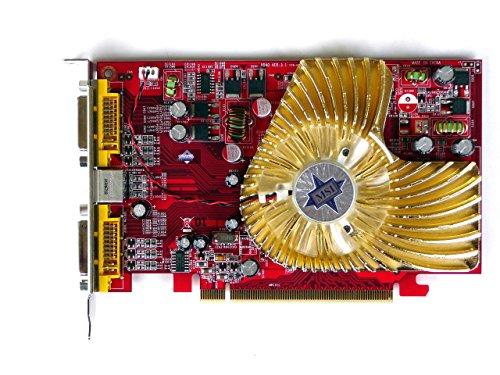 (RX1650TD256E - MSI RX1650TD256E MSI RX1650TD256E NEW MICRO STAR ATI RADEON X1650 256MB 2DVI HDTV PCI)