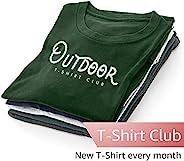 Outdoors Adventure T-Shirt Club Subscription – Men – Large