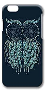 iphone 6 4.7 Case, Customized Slim Protective Hard 3D Case Cover for Apple iphone 6 4.7- Dream Catch Owl