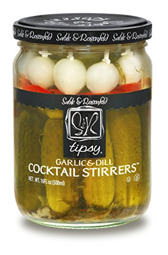 Sable and Rosenfeld Garlic and Dill Cocktail Stirrers, 16.0 Ounce