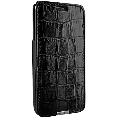 Piel Frama Wallet Case for Samsung Galaxy Note 5 - Crocodile Black by Piel Frama