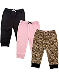 Baby Cotton Tapered Ankle Pants