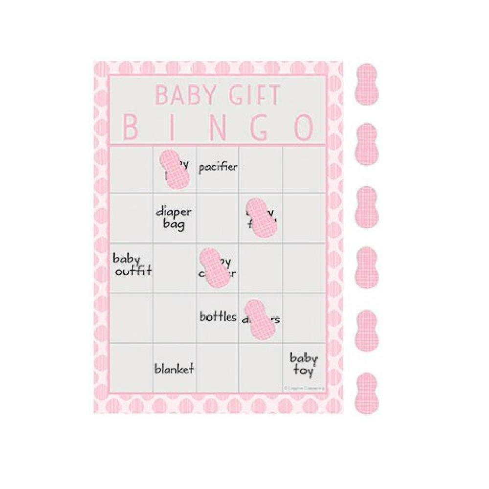 Bargain World Little Peanut Pink Bingo Game (with Sticky Notes)