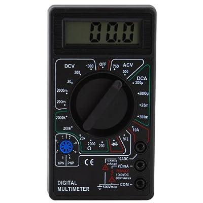 LCD Digital Voltmeter Ohm Multimeter, DTL-01