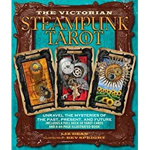 Novelty Toys Tarot Cards Steampunk Victorian Style Spark Your Imagination and Intuition Modern Age