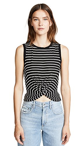 Bailey 44 Women's Twist and Shout Knot Top, Black, S