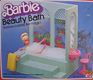 barbie bathroom games bath playset bubbles 10078