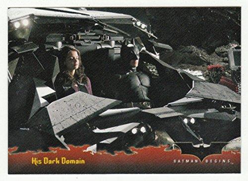His Domain - His Dark Domain (Trading Card) Batman - Batman Begins # 67 Topps 2005 - NM/M
