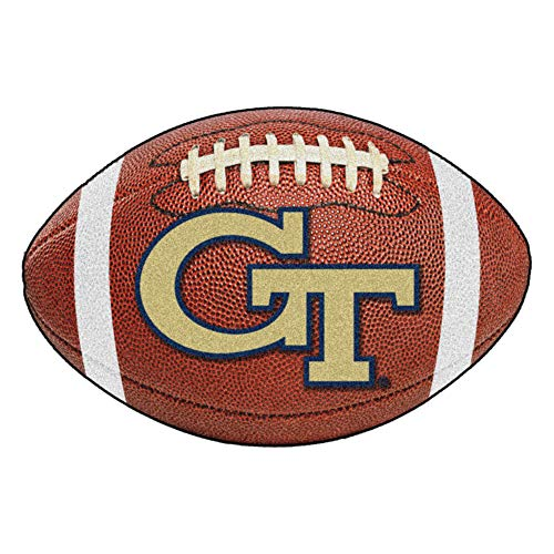 FANMATS NCAA Georgia Tech Yellow Jackets Nylon Face Football -