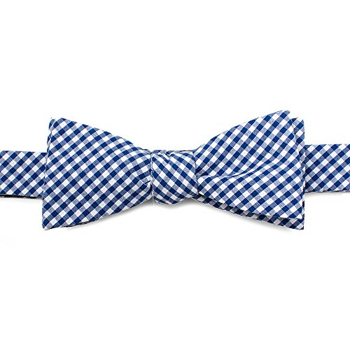 Cufflinks Inc. Men's Gingham Cotton Bow Tie Blue One Size