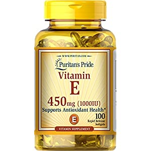 Gut Health Shop 51uSYYjuzrL._SS300_ Puritan's Pride Vitamin E 450 Mg Supports Immune Function
